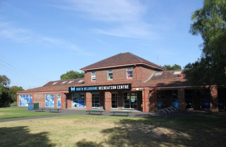 North Melbourne Recreation Centre Exterior
